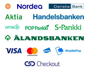 Kotimaiset verkkopankit ja luottokortit