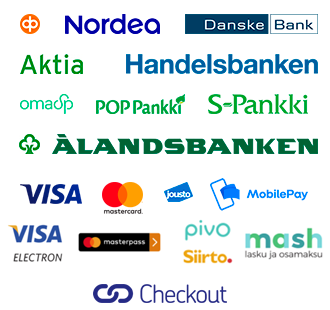 Kotimaiset verkkopankit ja luottokortit, osamaksu