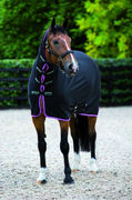 155cm Cooler kaulakappaleella Horseware Amigo Jersey All In One (ACRK64)