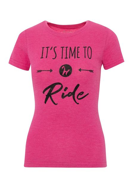 Paita IW Collection Its Time To Ride pink